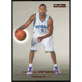2008/09 Upper Deck SkyBox Ruby #104 Morris Peterson /50