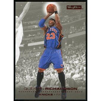 2008/09 Upper Deck SkyBox Ruby #113 Quentin Richardson /50