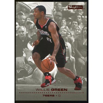 2008/09 Upper Deck SkyBox Ruby #122 Willie Green /50