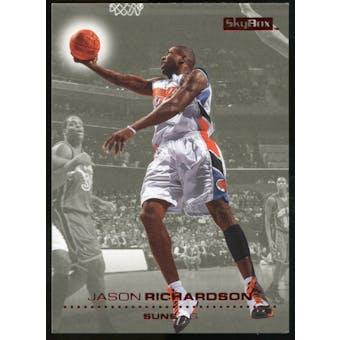 2008/09 Upper Deck SkyBox Ruby #127 Jason Richardson /50