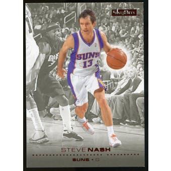 2008/09 Upper Deck SkyBox Ruby #129 Steve Nash /50