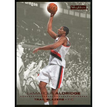 2008/09 Upper Deck SkyBox Ruby #132 LaMarcus Aldridge /50