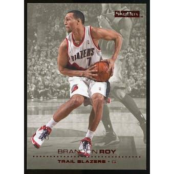 2008/09 Upper Deck SkyBox Ruby #135 Brandon Roy /50