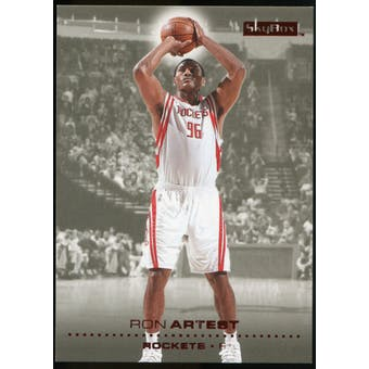 2008/09 Upper Deck SkyBox Ruby #138 Ron Artest /50