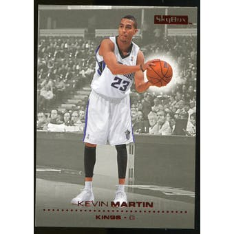 2008/09 Upper Deck SkyBox Ruby #140 Kevin Martin /50