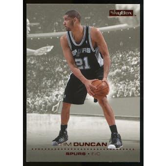 2008/09 Upper Deck SkyBox Ruby #144 Tim Duncan /50