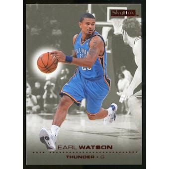 2008/09 Upper Deck SkyBox Ruby #151 Earl Watson /50