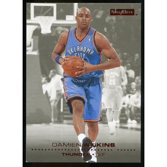 2008/09 Upper Deck SkyBox Ruby #153 Damien Wilkins /50