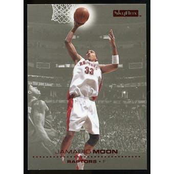 2008/09 Upper Deck SkyBox Ruby #158 Jamario Moon /50