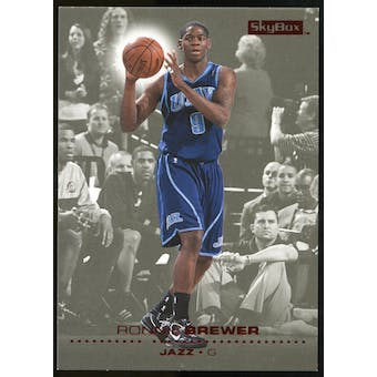 2008/09 Upper Deck SkyBox Ruby #161 Ronnie Brewer /50