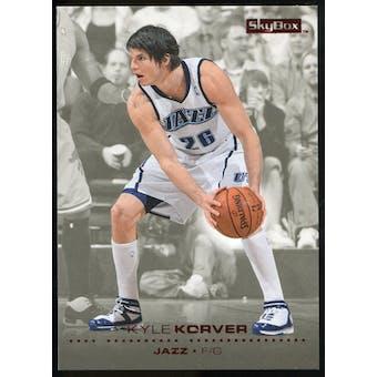 2008/09 Upper Deck SkyBox Ruby #163 Kyle Korver /50