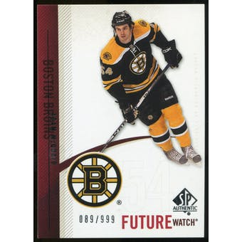2010/11 Upper Deck SP Authentic #213 Adam McQuaid RC /999
