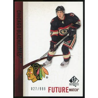 2010/11 Upper Deck SP Authentic #218 Ben Smith RC /999