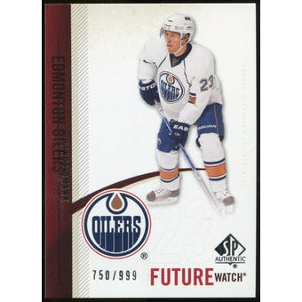 2010/11 Upper Deck SP Authentic #224 Linus Omark RC /999