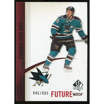 2010/11 Upper Deck SP Authentic #227 Mike Moore RC /999