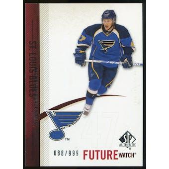 2010/11 Upper Deck SP Authentic #246 Nicholas Drazenovic RC /999
