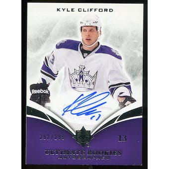 2010/11 Upper Deck Ultimate Collection #117 Kyle Clifford RC Autograph /299
