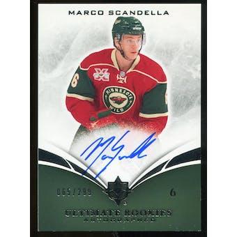 2010/11 Upper Deck Ultimate Collection #119 Marco Scandella RC Autograph /299