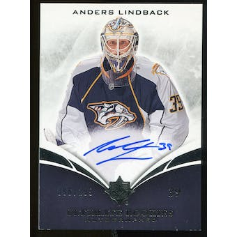 2010/11 Upper Deck Ultimate Collection #121 Anders Lindback RC Autograph /299