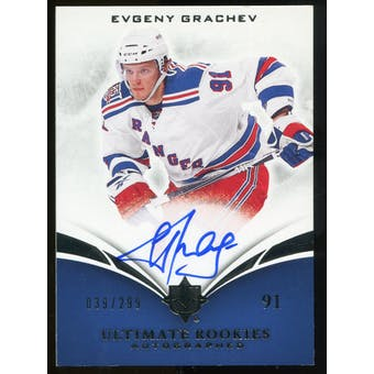 2010/11 Upper Deck Ultimate Collection #125 Evgeny Grachev RC Autograph /299