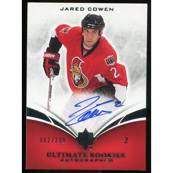 2010/11 Upper Deck Ultimate Collection #127 Jared Cowen RC Autograph /299