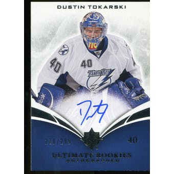 2010/11 Upper Deck Ultimate Collection #134 Dustin Tokarski RC Autograph /299