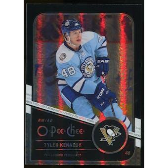 2011/12 Upper Deck O-Pee-Chee Black Rainbow #168 Tyler Kennedy /100