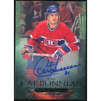 2011/12 Upper Deck Parkhurst Champions Autographs #46 Guy Carbonneau E Autograph