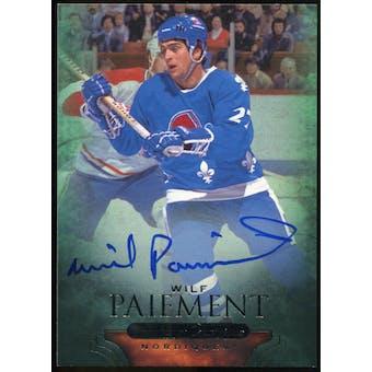 2011/12 Upper Deck Parkhurst Champions Autographs #66 Wilf Paiement E Autograph