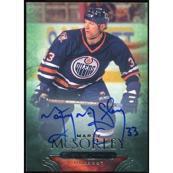 2011/12 Upper Deck Parkhurst Champions Autographs #86 Marty McSorley D Autograph