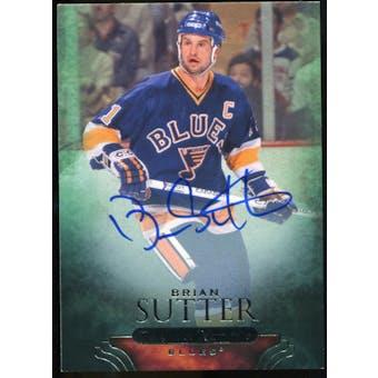 2011/12 Upper Deck Parkhurst Champions Autographs #89 Brian Sutter E Autograph