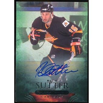 2011/12 Upper Deck Parkhurst Champions Autographs #90 Rich Sutter E Autograph