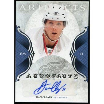2011/12 Upper Deck Artifacts Autofacts #ACL Dan Cleary D Autograph