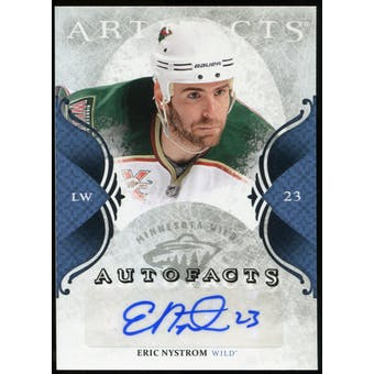 2011/12 Upper Deck Artifacts Autofacts #AEN Eric Nystrom F Autograph
