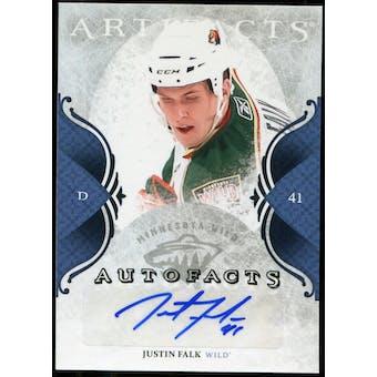 2011/12 Upper Deck Artifacts Autofacts #AJF Justin Falk F Autograph