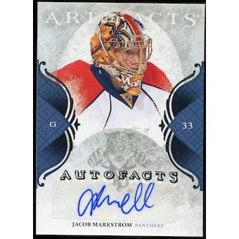 2011/12 Upper Deck Artifacts Autofacts #AJM Jacob Markstrom F Autograph