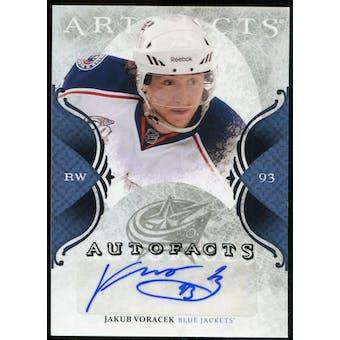 2011/12 Upper Deck Artifacts Autofacts #AJV Jakub Voracek D Autograph