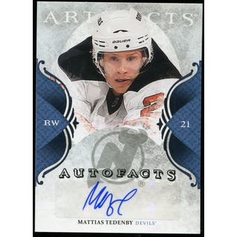 2011/12 Upper Deck Artifacts Autofacts #AMT Mattias Tedenby E Autograph