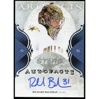 2011/12 Upper Deck Artifacts Autofacts #ARB Richard Bachman F Autograph