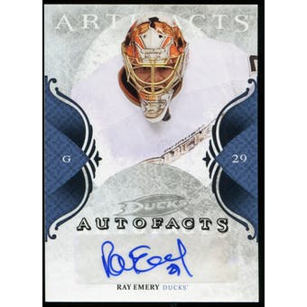 2011/12 Upper Deck Artifacts Autofacts #ARE Ray Emery D Autograph