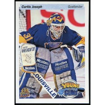 2014/15 Upper Deck 25th Anniversary Retro Young Guns #UD25-CJ Curtis Joseph Toronto Fall Expo