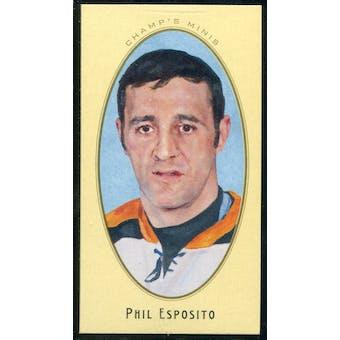 2011/12 Upper Deck Parkhurst Champions Champ's Mini Parkhurst Backs #51 Phil Esposito SP