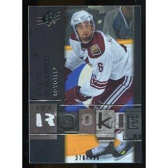 2009/10 Upper Deck SPx #105 David Schlemko RC /499