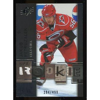 2009/10 Upper Deck SPx #111 Jakub Petruzalek RC /499