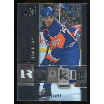 2009/10 Upper Deck SPx #126 Sean Bentivoglio RC /499