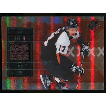 2009/10 Upper Deck SPx Spectrum #7 Jeff Carter Jersey /25