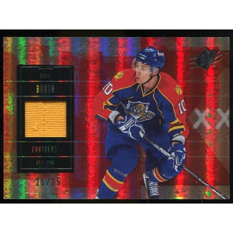 2009/10 Upper Deck SPx Spectrum #26 David Booth Jersey /25