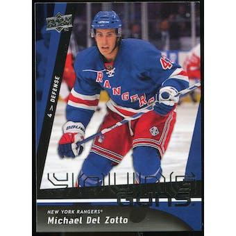 2009/10 Upper Deck #206 Michael Del Zotto YG RC