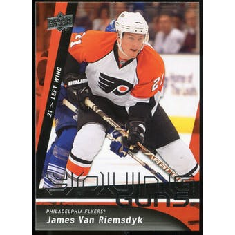 2009/10 Upper Deck #207 James van Riemsdyk YG RC