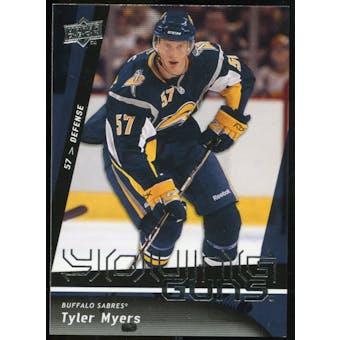 2009/10 Upper Deck #214 Tyler Myers YG RC